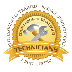 Anytime Service's technicians are certified by Angie's List