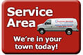 View Anytime Service's local service area.